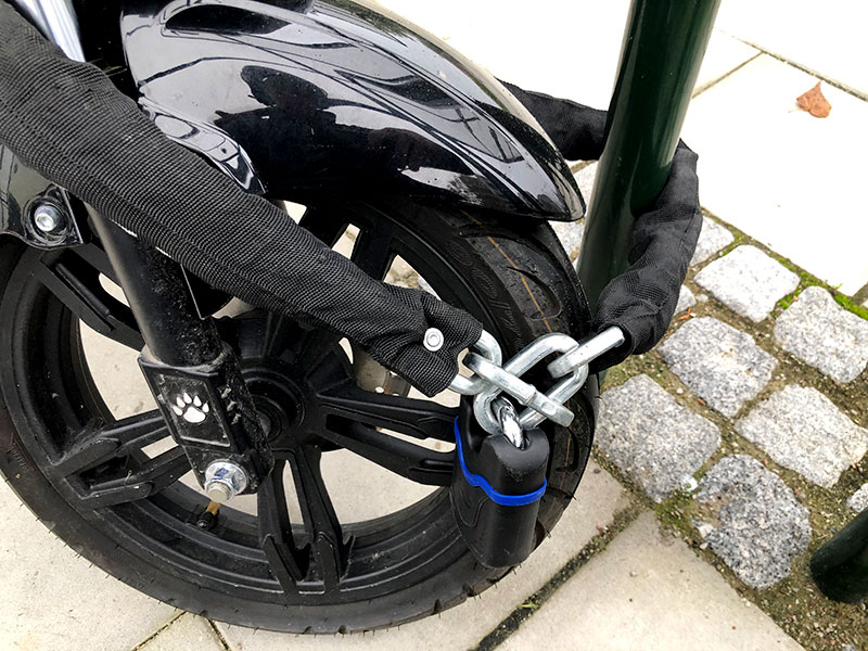 Test: Bäst lås för moped 2020