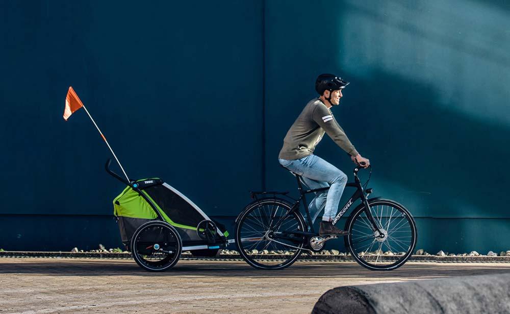 Bästa cykelvagnen 2021 – skjutsa barnen tryggt och säkert