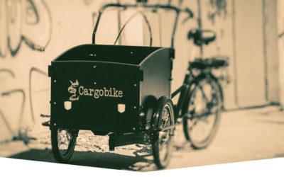 Lådcykel + el = sant! Roligt och praktiskt alternativ till bil